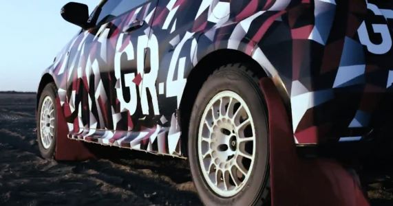 Yes, The Toyota Yaris GR-4 Will Be All-Wheel-Drive