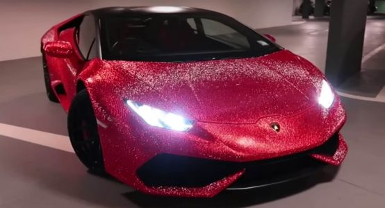 Bedazzled Huracan Looks Like The Bull That Busted The China Shop