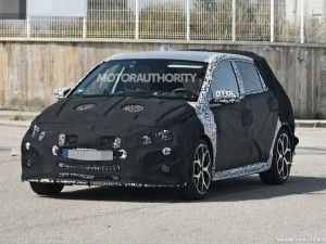 Hyundai i20 N Spotted Testing With Heavy Camouflage