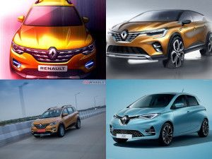 Renault At Auto Expo 2020 Triber AMT Sub-4m sedan HBC SUV And Concepts