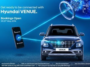 Hyundai Venue Official Bookings Open Can Be Booked Online As Well