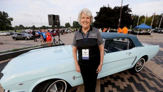 This Women Was The First Ford Mustang Buyer In The World and She Still Owns It