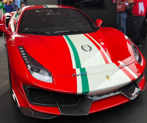 Ferrari Reveal 488 Pista 'Piloti Ferrari' Tailor Made At Le Mans