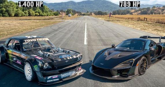 This Hoonicorn Vs McLaren Senna Battle Is The Drag Race You Didn't Expect