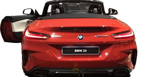This Might Just Be The 2019 BMW Z4