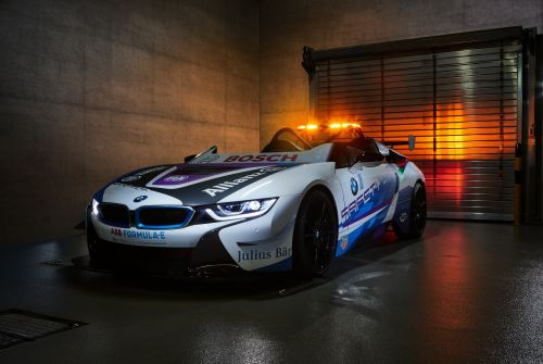 BMW i8 Roadster Now A Speedster For Formula E Safety Car Duties