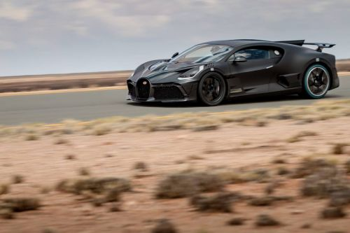 Bugatti Takes Divo Testing In The Kalahari Desert