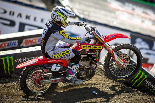 Geico Honda - Foxborough SX Report