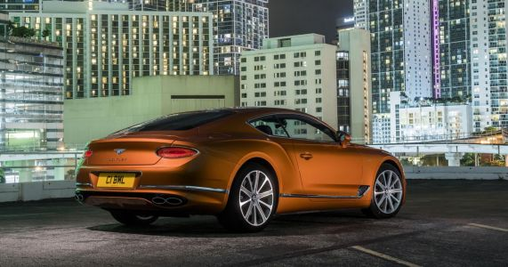 The Bentley Continental GT V8 Is The Less Excessive Way To Waft
