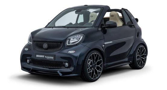 One Of Ten Ultimate Sunseeker Is A Brabus Fortwo With Maritime Flair