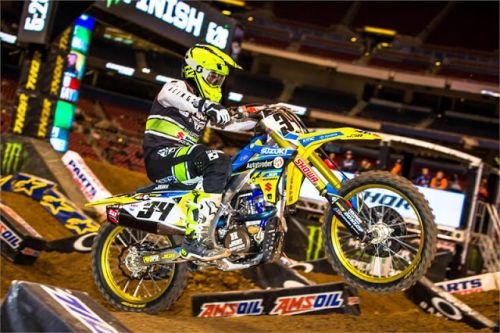 TOP FIVE FOR AUTOTRADER YOSHIMURA SUZUKI AT ST LOUIS SX
