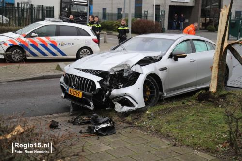 Five Day Old Mercedes-AMG GT 63 S 4-Door Coupé Crashed In The Netherlands