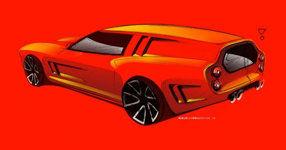 A Design House Is Creating A 550-Based 250 GT Breadvan Homage