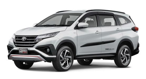 2018 Toyota Rush Is Daihatsu Terios Indonesian Cousin