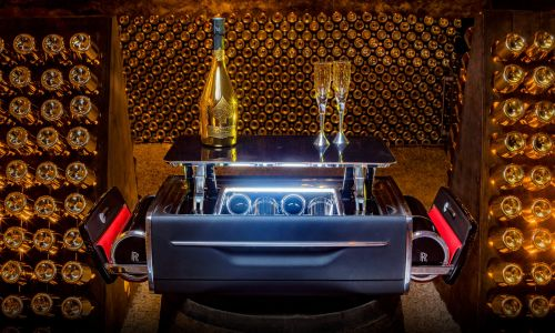 Rolls-Royce Champagne Chest Costs More Than A VW Golf R
