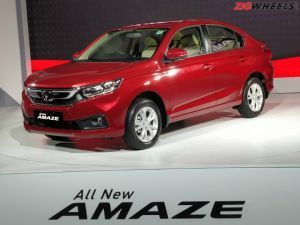All-New Honda Amaze Launched