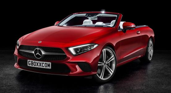 2019 Mercedes-Benz CLS Rendered As A Coupe, Cabriolet And AMG