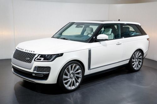 Ultra Luxurious Range Rover SV Coupé Cancelled