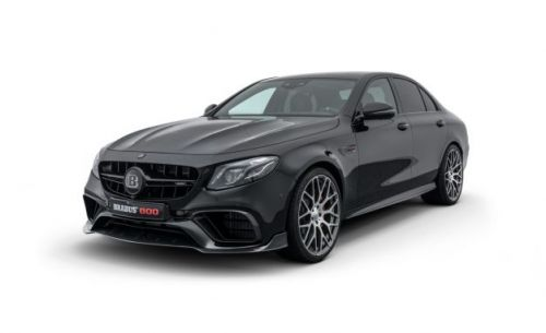 Brabus 800: The Usual 789-HP Mercedes-Benz E-class