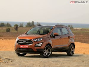 Ford EcoSport S 10 EcoBoost Review In Pictures