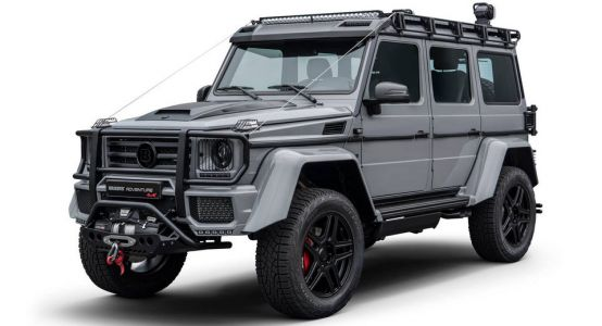 Brabus Shows Off More Of 4x4² Adventure, In Case Anyone Missed It