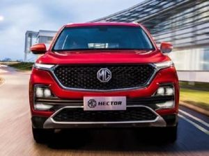 MG Hector India Unveil On May 15 Launch In June