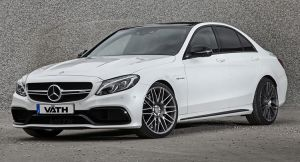 Vath Squeezes A Hefty Amount Of Grunt Out Of The C63 AMG