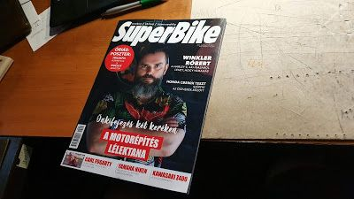 My seat in the Superbike Magazin