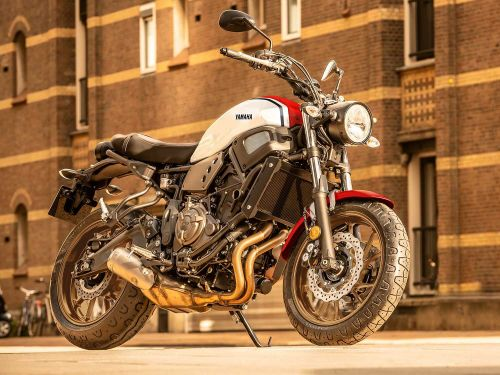 2020 Yamaha XSR700 Preview Photo Gallery