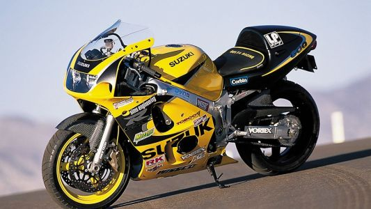 Modified Middleweight Comparison: Sims/Voter Suzuki GSX-R600-From The Archives