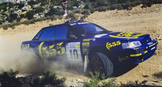 Once Driven By Rally Gods, This Subaru Legacy RS Is Now Up For Grabs