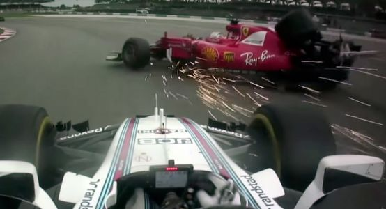 Collisions Galore: Relive The 10 Most Dramatic Moments Of F1 2017