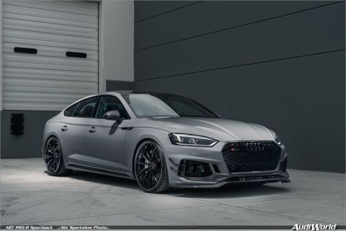 "American dream: the first ABT RS5-R Sportback is a ""US citizen"""
