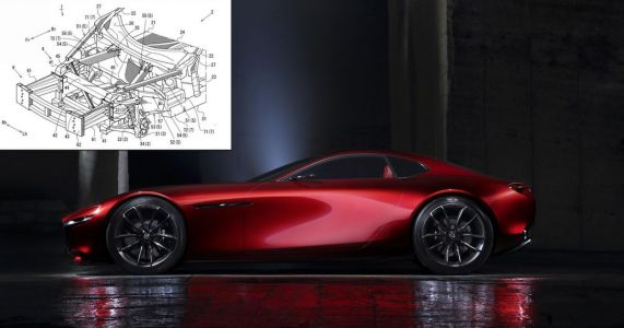 New Patent Suggests A Rotary Mazda 'RX-9' Is Happening After All