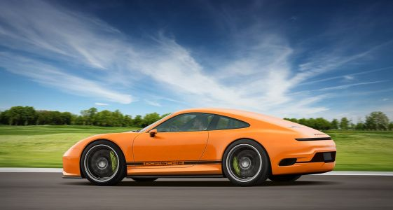 Artist Releases Renders of What a Future EV 911 Could Look Like