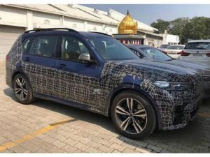BMW X7 Spied In India Likely To Launch In January