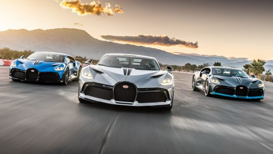 R280 Million Bugatti Divo Trio Delivered In California