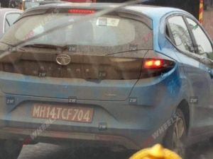 Tata Altroz Turbo Petrol Spotted Testing Ahead Of India Launch