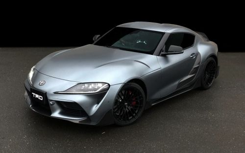 Toyota GR Supra TRD Revealed with Loads of Carbon Parts