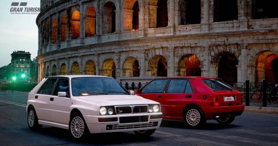 The Lancia Delta Integrale Is Part Of GT Sport's Latest Update
