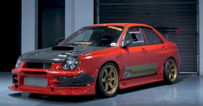 This Is What A Subaru Impreza With $250,000 Of Modifications Looks Like