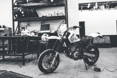 Super Moto Monday. dr650 bigbore supermoto