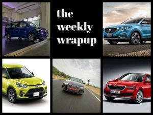 Top 5 Car News Of The Week Mercedes V-Class Elite Launched Audi A4 Refreshed Skoda Kamiq Spotted And More
