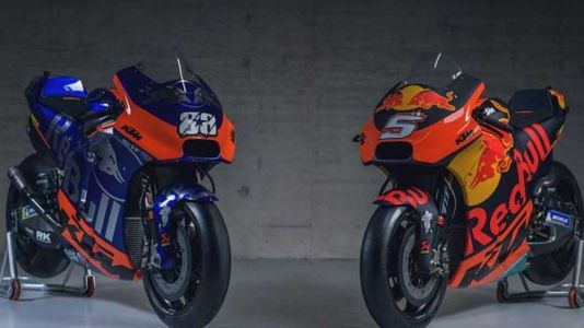 2019 Red Bull KTM And Tech3 MotoGP Team First Look