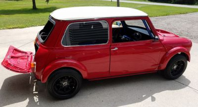 This 1962 Mini Has A Rear-Mounted Integra Type R Engine