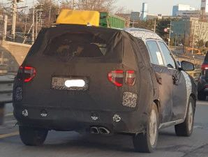 Hyundai Creta 7-Seater SUV Spied Again Hints At New Tail Lamp Design