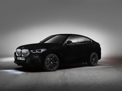 BMW VBX6 Vantablack® Shows Off The World's Blackest Black Paint