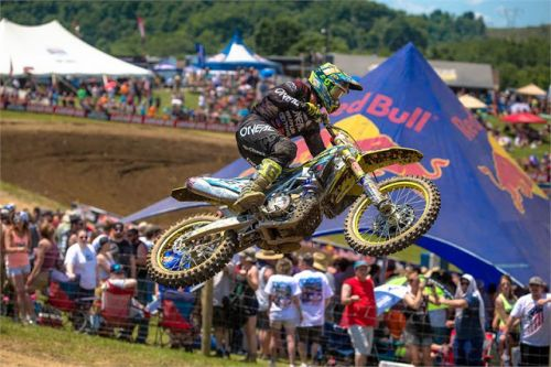 SUZUKI'S HILL DEBUTS WITH 5TH IN HIGH POINT 450 CLASS