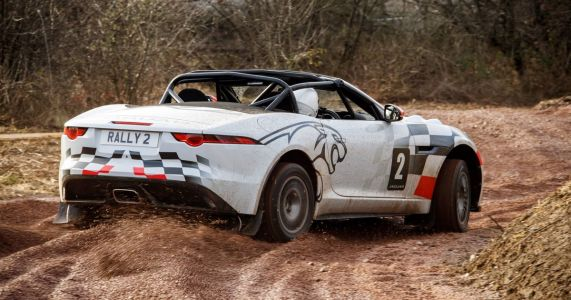 I Drove A Jaguar F-Type Rally Car And It Was The Right Kind Of Ridiculous