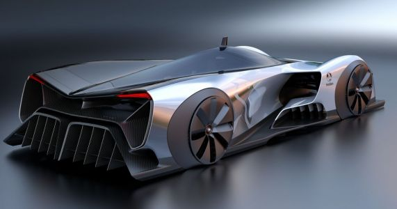 Holden's 1340bhp EV Concept Will Do 0-62 In 1.25sec
